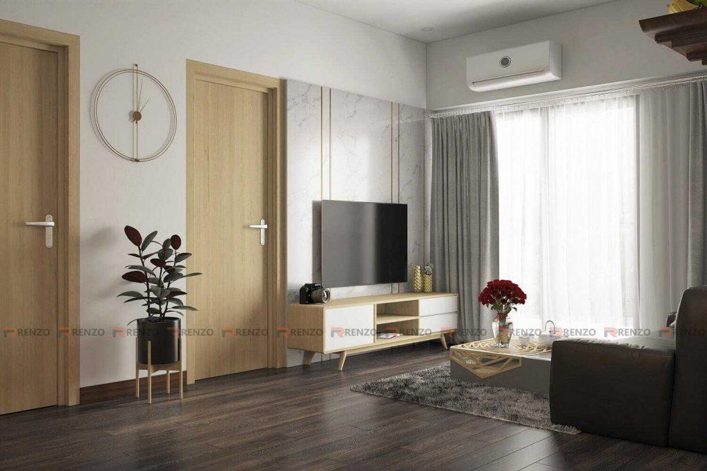 Thiết kế nội thất phòng khách tại Ecopark