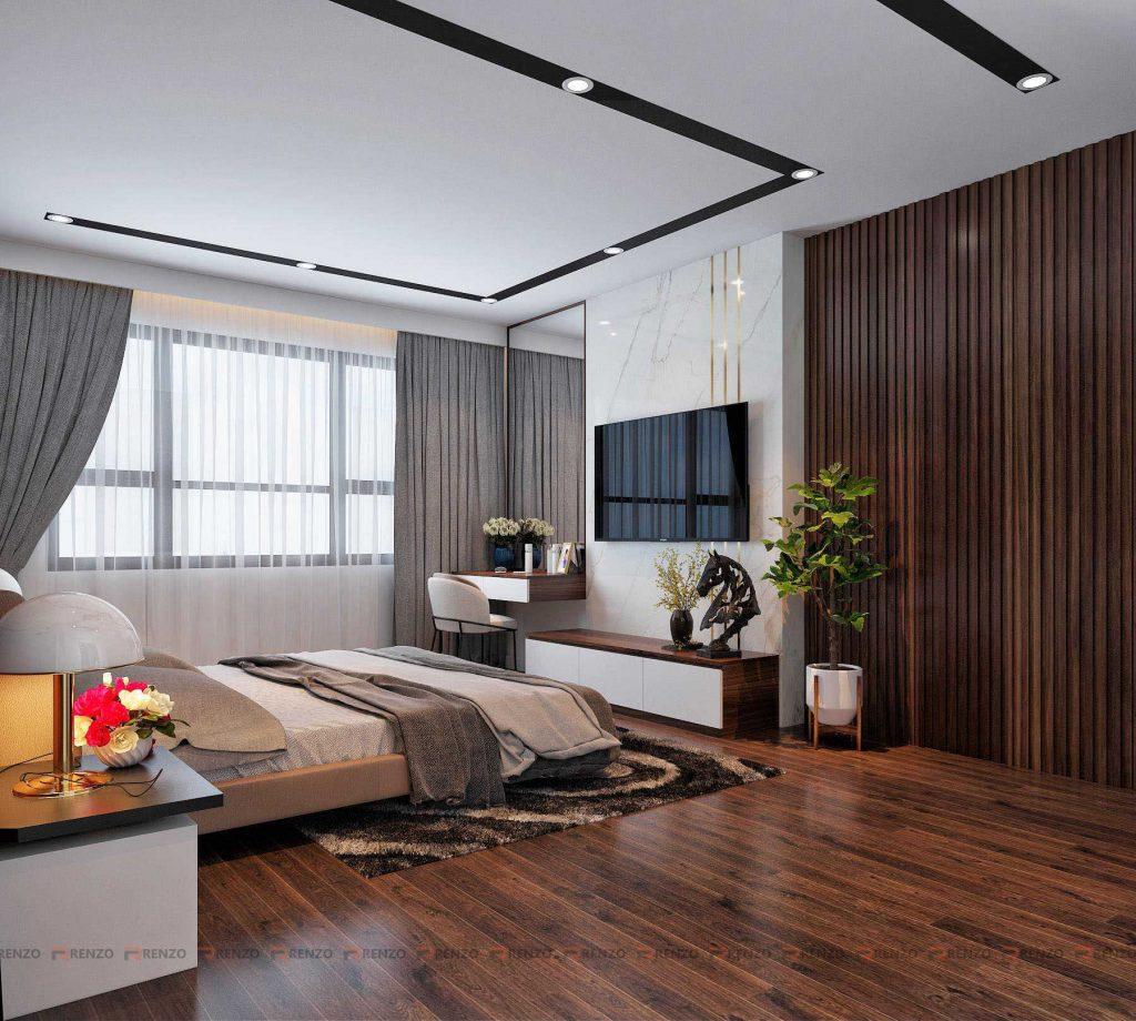 Thiết kế nội thất phòng ngủ Goldmark city