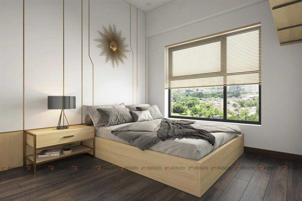 Thiết kế nội thất phòng ngủ Ecopark