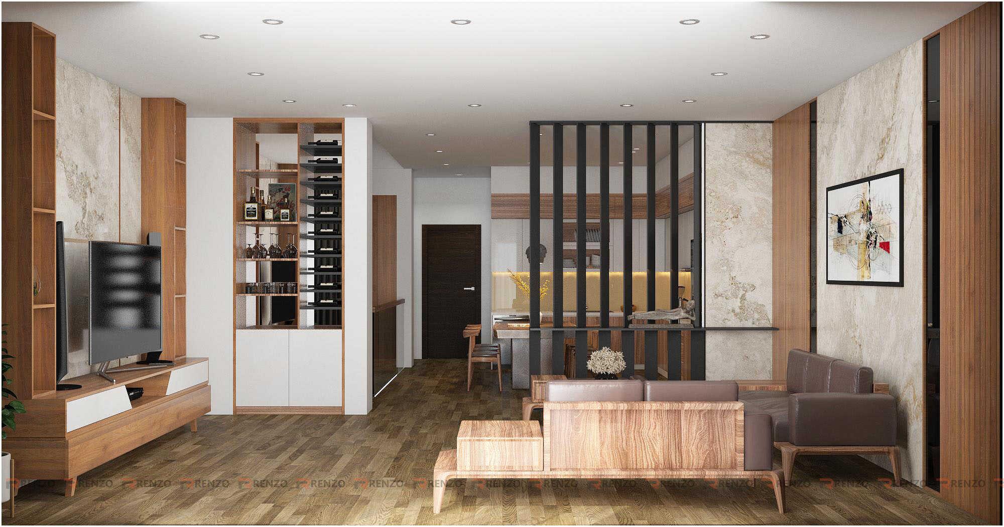Thiết kế nội thất phong bếp