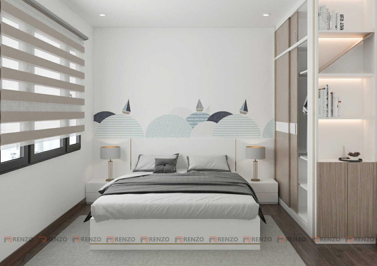 Thiết kế nội thất phòng ngủ Vinhomes Ocean Park Gia Lâm