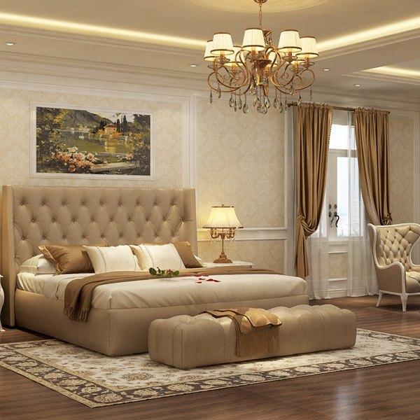 nội thất phòng ngủ phong cách cổ điển