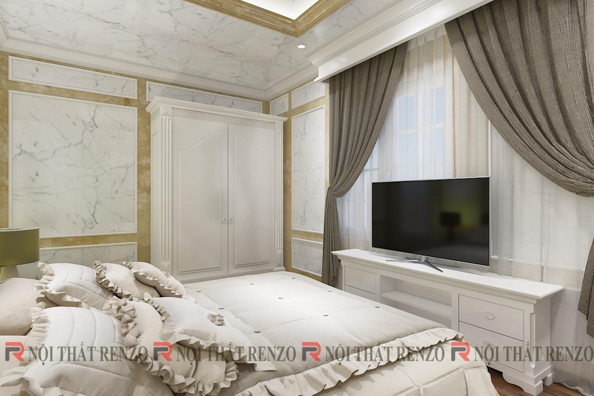 Thiết kế nội thất khách sạn Hoa Cau
