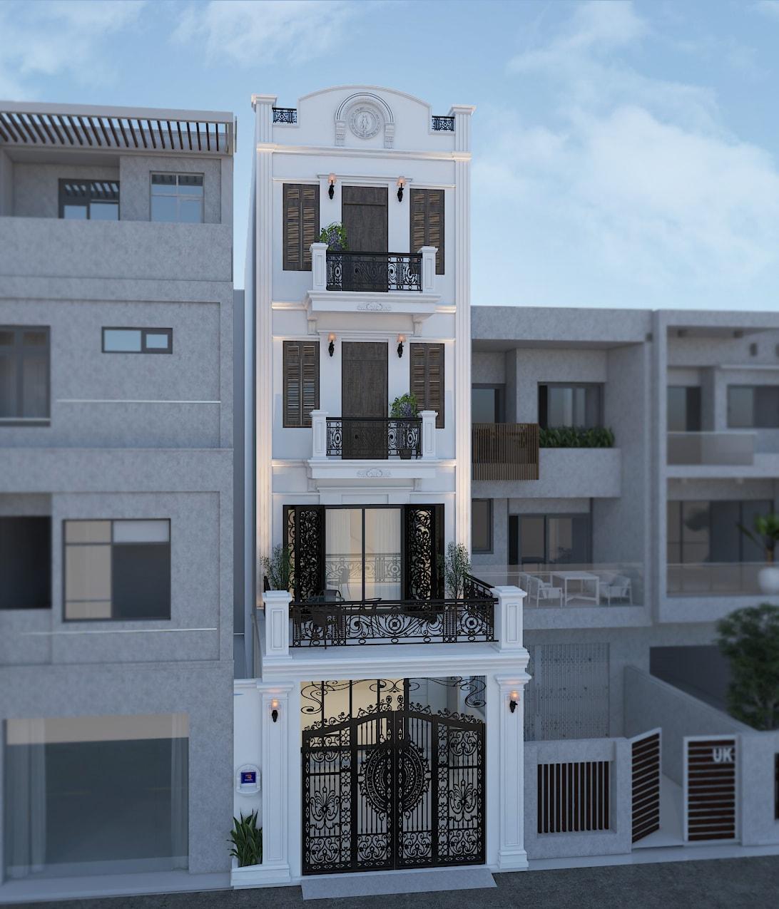 Thiết kế nội thất biệt thự Mr. Đức - Long Biên, Hà Nội