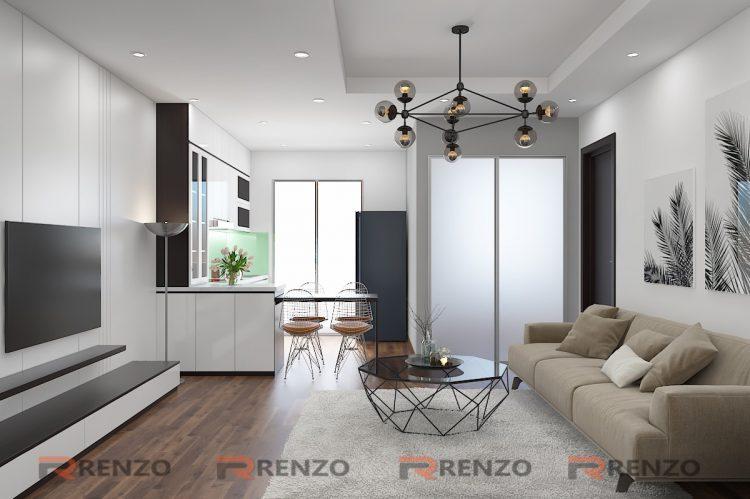 Thiết kế nội thất căn hộ Mr. Quý