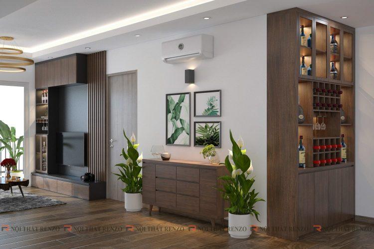 Thiết kế nội thất Căn hộ Mr. Nghiêm - Bắc Ninh