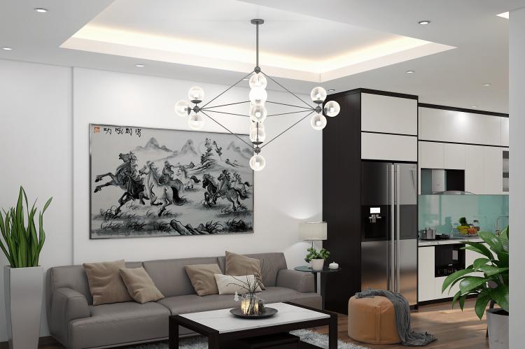 Thiết kế nội thất chung cư V-city