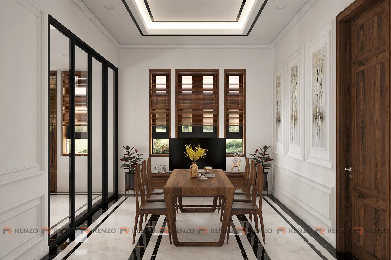 Thiết kế phòng khách Mr. Tùng