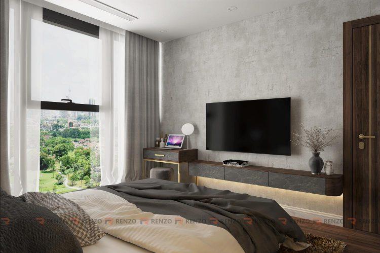 thiết kế nội thất chung cư S3 Sunshine
