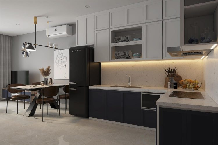 Thiết kế căn hộ 2 phòng ngủ tại Vinhome Smart City Tây Mỗ