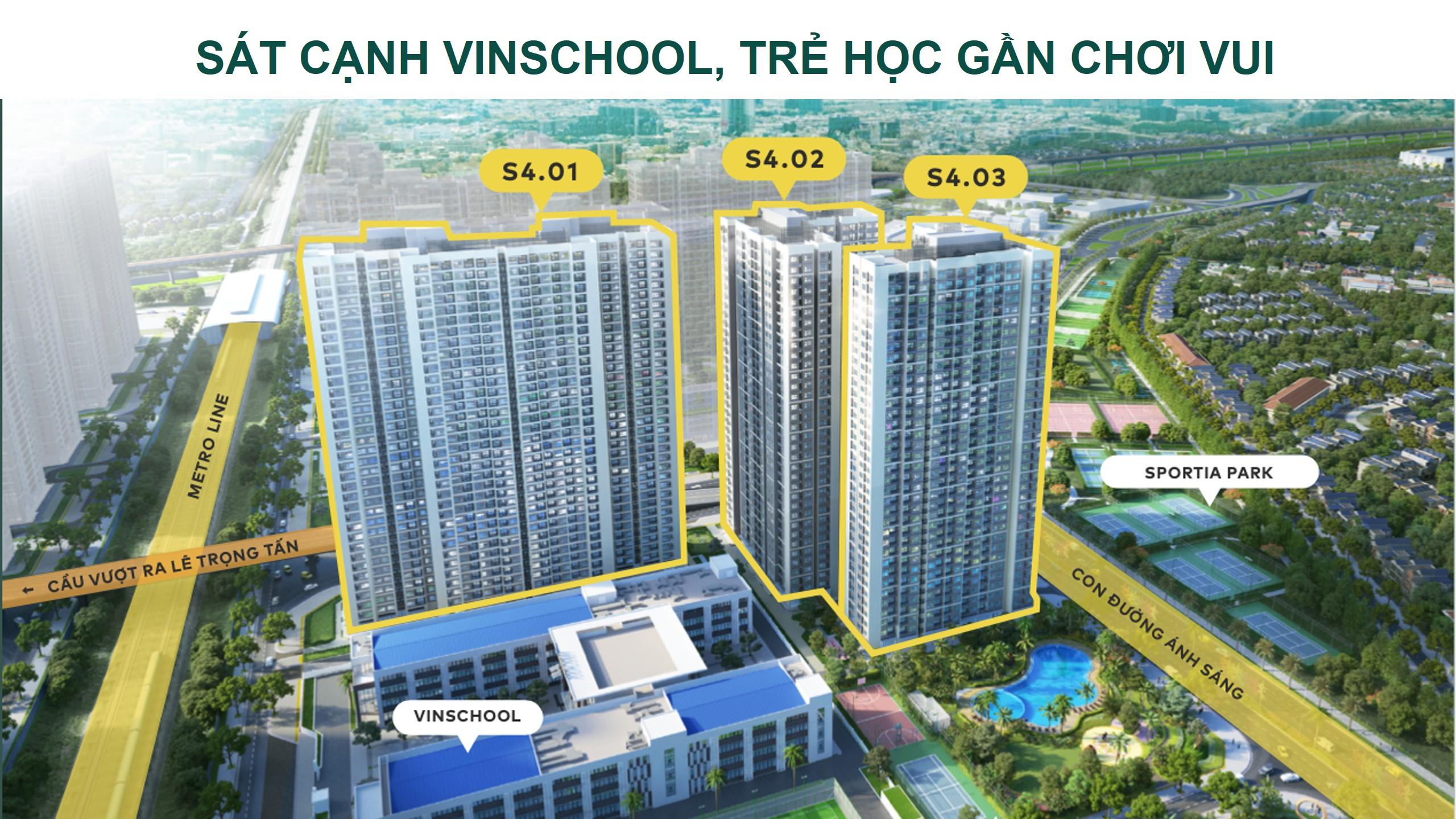 Thông tin chi tiết phân khu Sapphire 4 Vinhomes Smart city