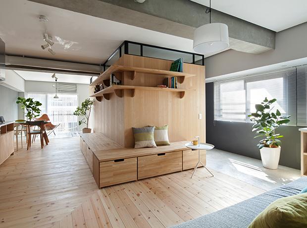 Những cách thiết kế sáng tạo cho nhà nhỏ chật hẹp