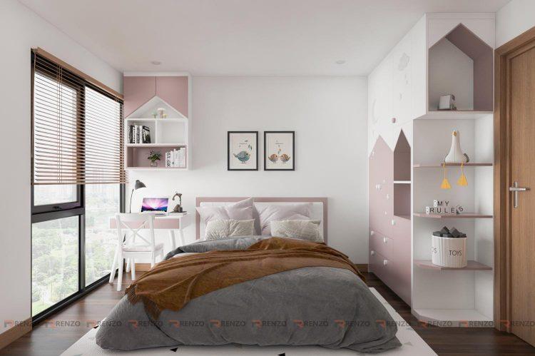 phòng ngủ căn hộ thống nhất complex 3
