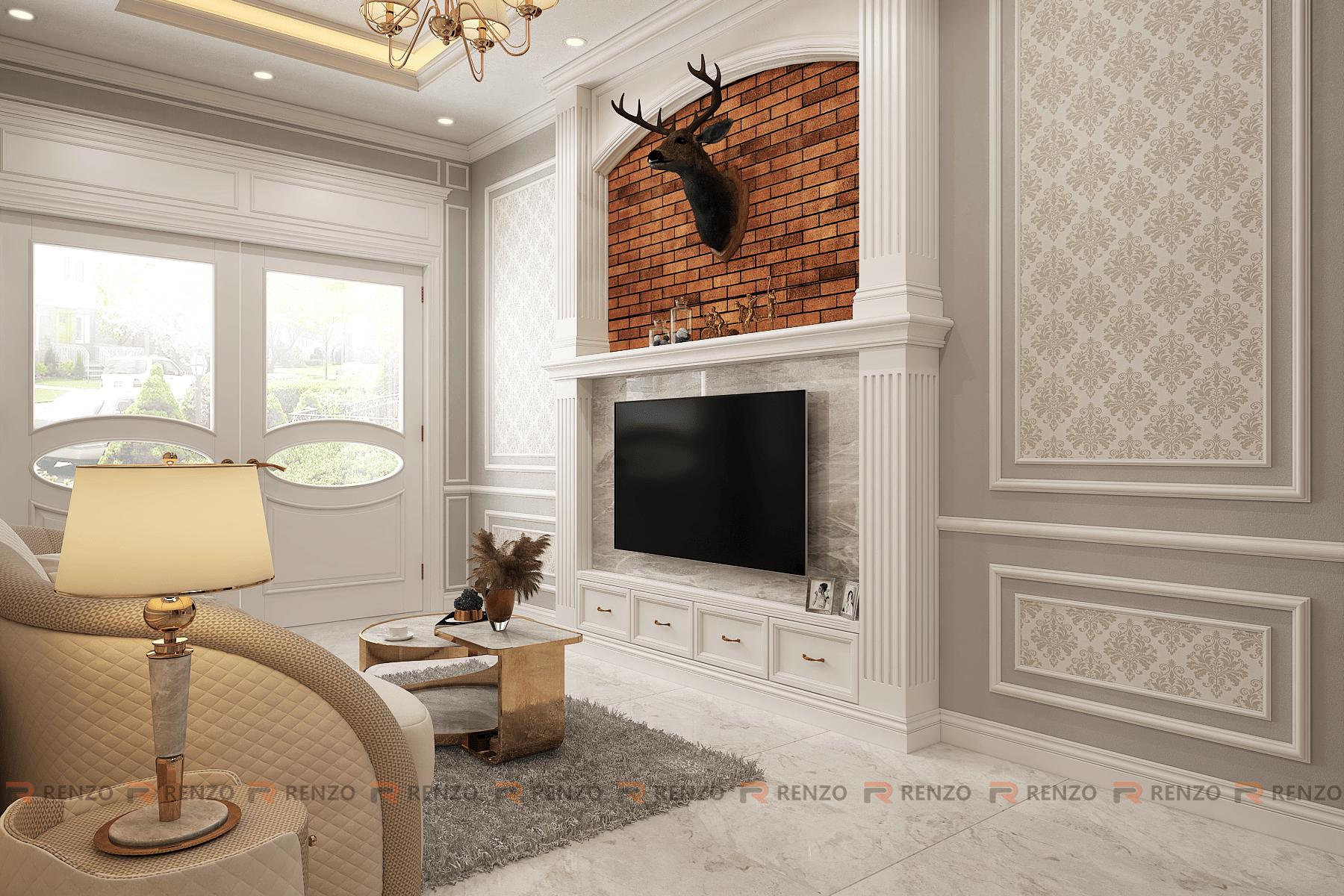 Thiết kế nội thất nhà lô Long Biên Mr. Tùng