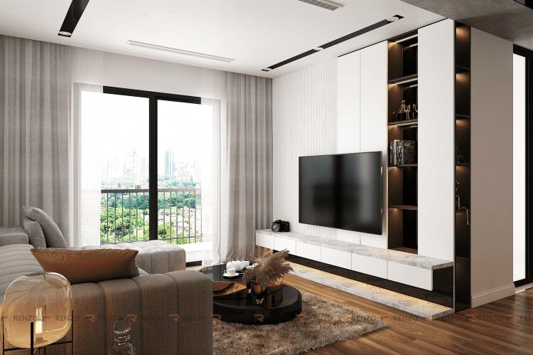 Thiết kế nội thất căn hộ Goldmark City Mr. Quang