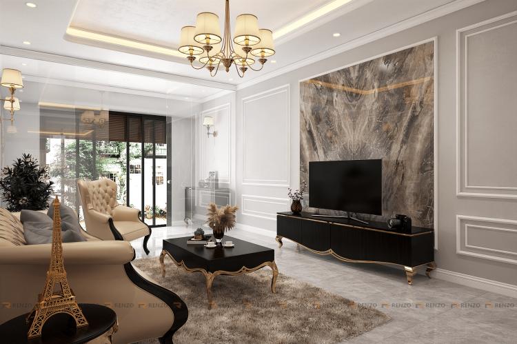 Thiết kế nội thất nhà ở dân dụng Ms. Nhung