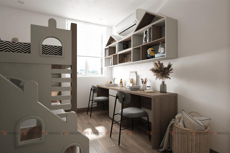 Thiết kế nội thất căn hộ chung cư Lạc Hồng Phúc, Mỹ Hào, Hưng Yên